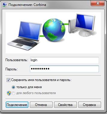 Подключение к сети L2TP