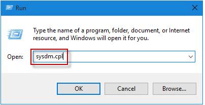 Переход к настройкам файла подкачки