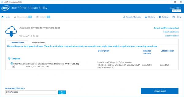 Программа для автоматического обновления драйверов Intel® Driver & Support Assistant