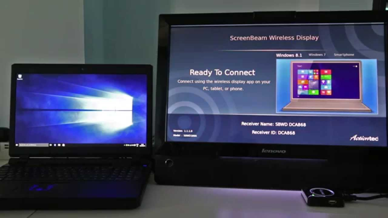 Как вывести изображение на большой экран через Miracast