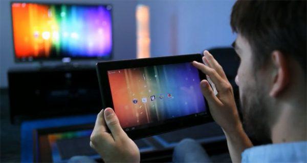 Перенос картинки планшета на телевизор