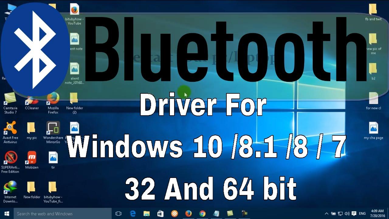 Как установить и настроить Bluetooth в Windows 7/8/10