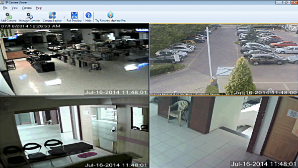 Программа IP Camera Viewer