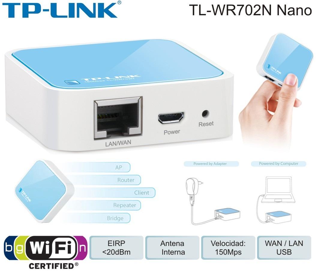 Как настроить карманный роутер TP-Link TL-WR702N