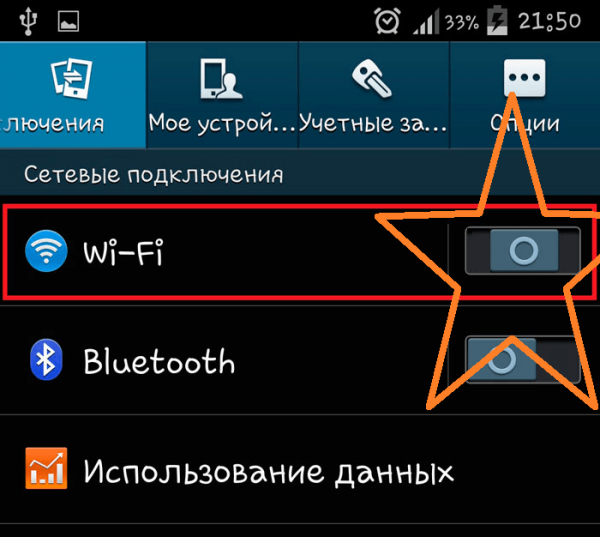 Подвисание функции Wi-Fi в Android
