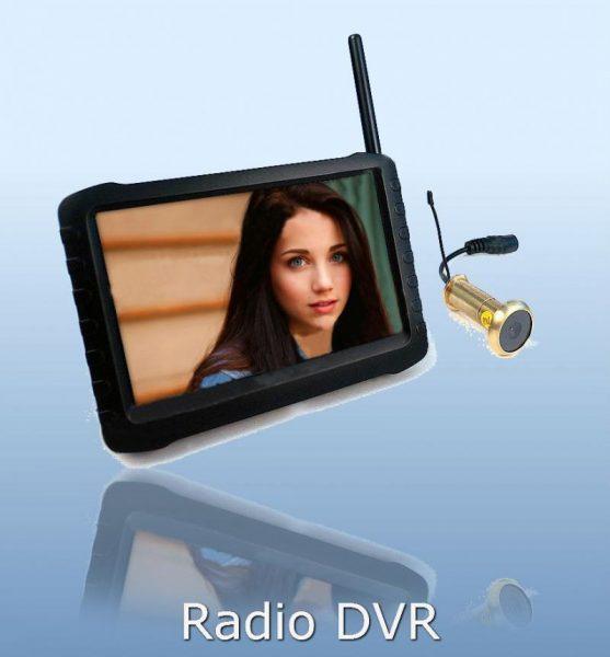 Настраиваемый видеоглазок Radio DVR
