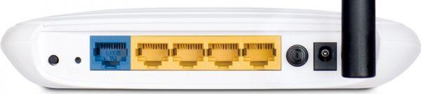 Задняя панель маршрутизатора