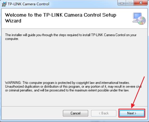 Инсталляция приложения TP-LINK_Camera_Control
