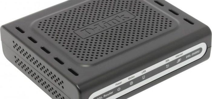 Новая версия D-LINK DSL-2500U
