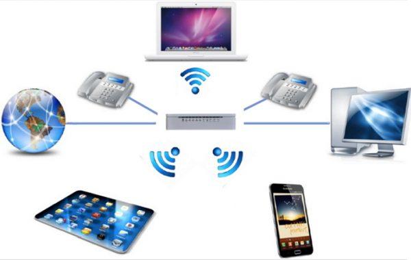 Организация сети, создаваемой при помощи маршрутизатора