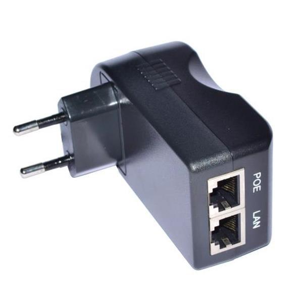 PoE-инжектор в виде адаптера питания с интерфейсом LAN-PoE