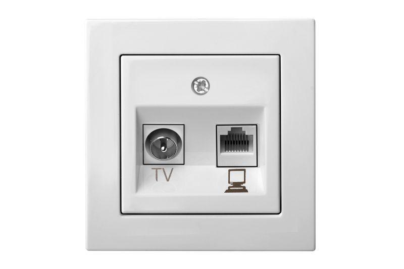 Как подключить интернет розетку, схема подключения кабеля по цветам 1274e98687f