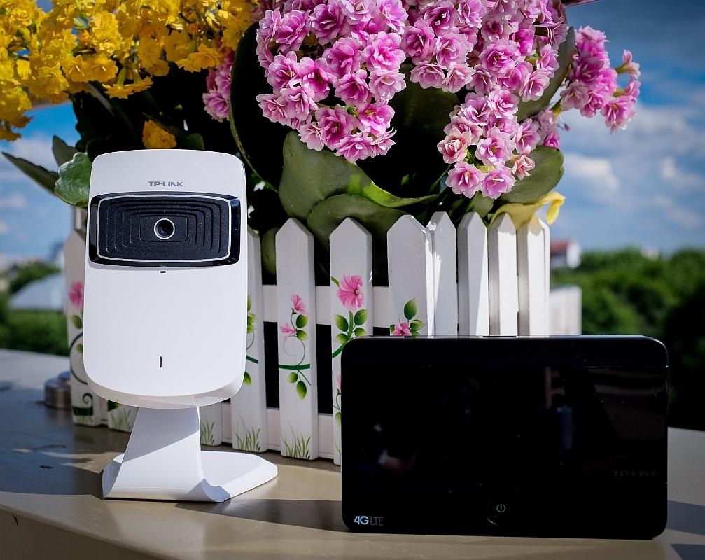 Как использовать облачную IP-камеру TP-Link NC200 в общественных местах и дома
