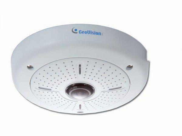 Уплощённая потолочная камера GeoVision