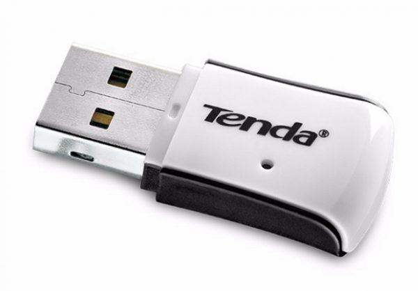 Внешний вид беспроводного адаптера Tenda W311M