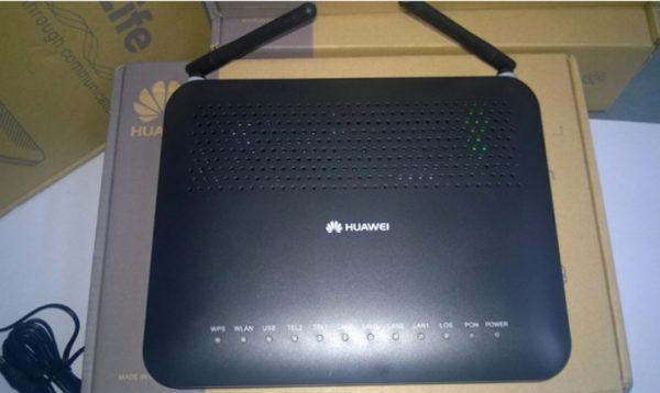 Внешний вид маршрутизатора Huawei HG8245