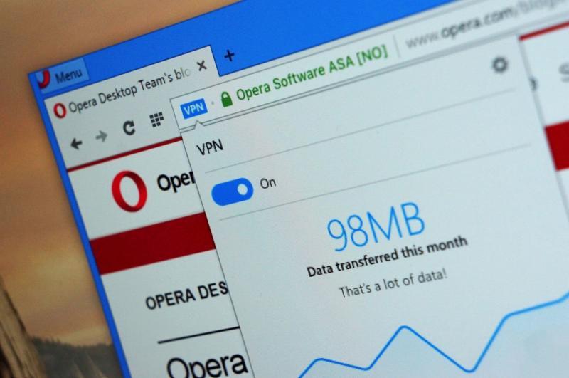 Все о встроенном VPN в браузере Opera