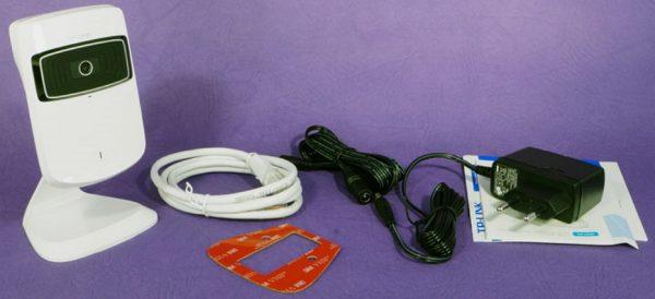 Комплектация облачной камеры TP-Link NC200