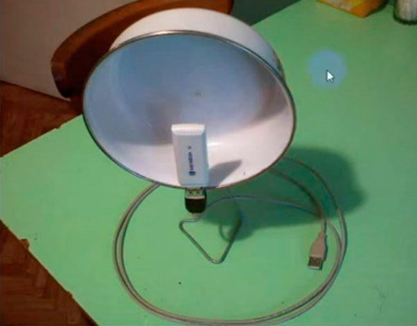 Использование антенны-резонатора
