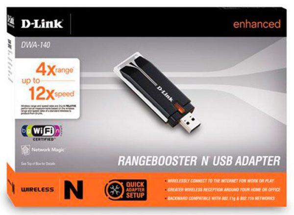 Адаптер D-Link DWA-140 версии 1.3