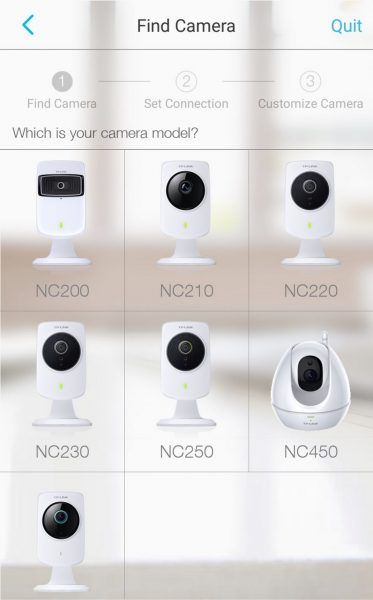 Выбор камеры
