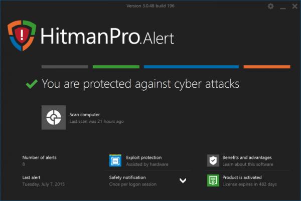 Приложение Hitman Pro