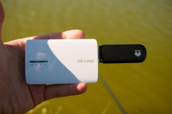 Размер роутера TP-Link TL-MR3040