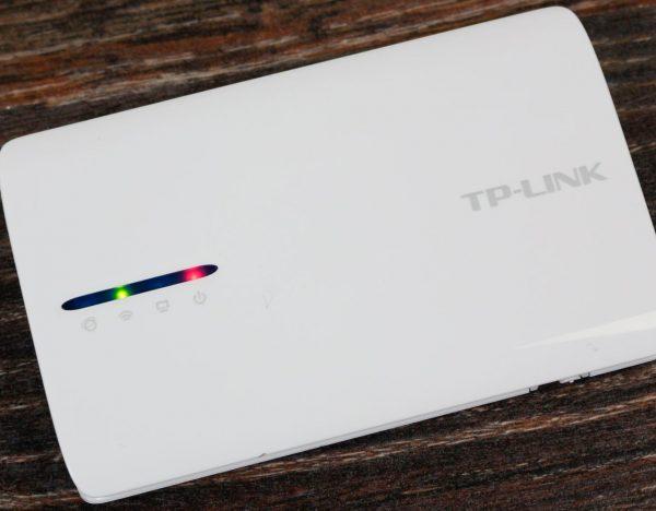 Панель индикации роутера TP-Link TL-MR3040