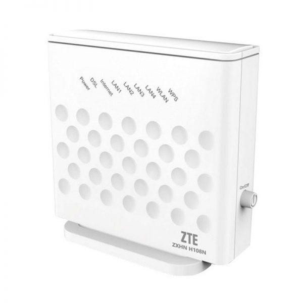 Внешний вид модема ADSL ZTE ZXHN H108N