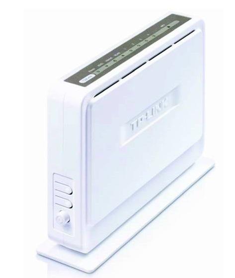 Внешний вид модема ADSL TP-LINK TD854W