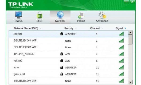 Программа для работы с TP-Link TL-WN822N