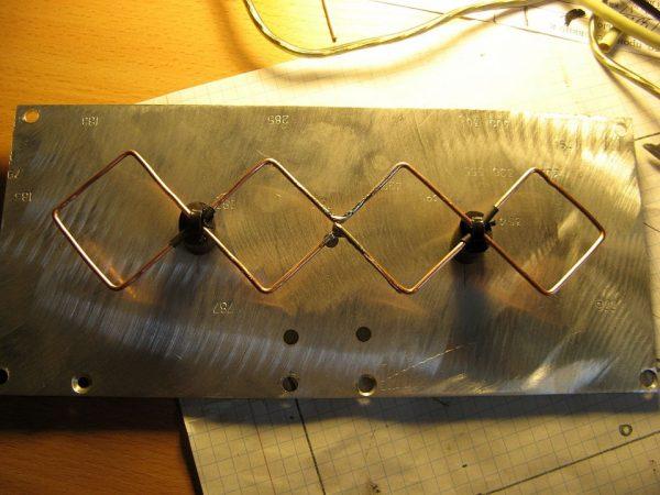 Установка антенны на рефлектор