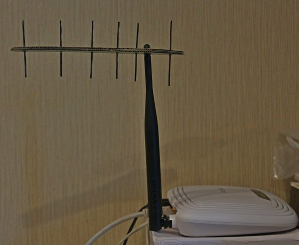 Насадка на антенну
