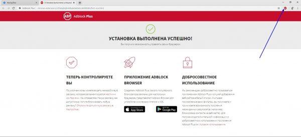 Как проверить установку Adblock