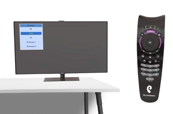 Синхронизация пульта «Ростелеком» и телевизора