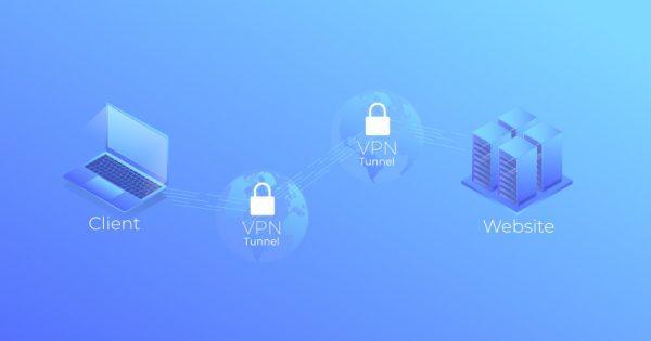 Схема двойного VPN