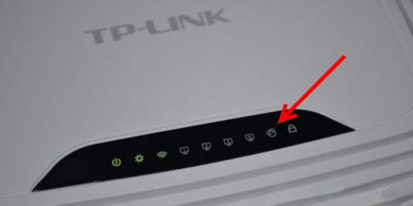 Индикаторы состояния на роутере TP-LINK