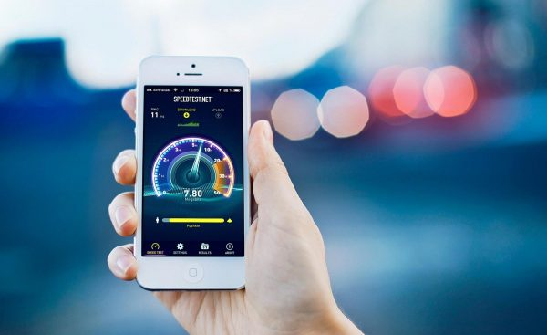Проверка скорости на телефоне