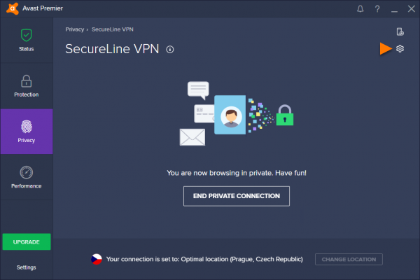Настройка SecureLine VPN