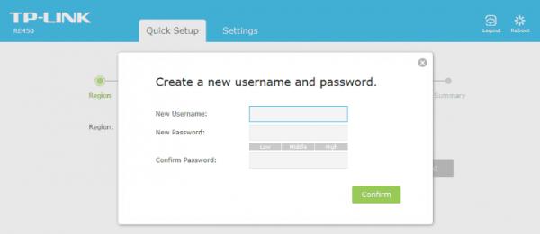Изменение логина и пароля