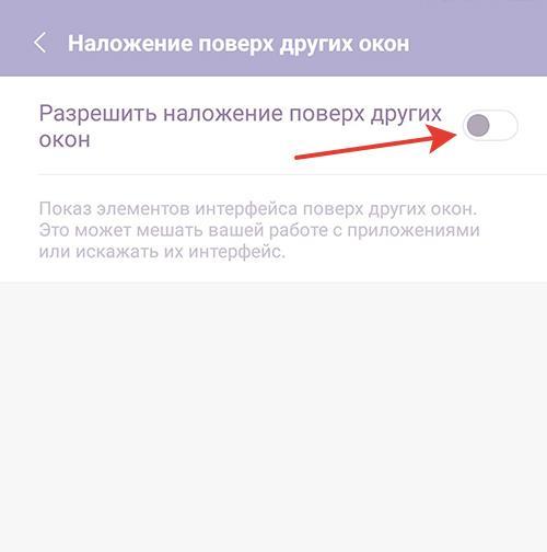 Разрешение наложения