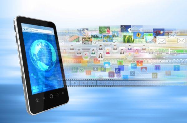 Скорость передачи данных на планшете
