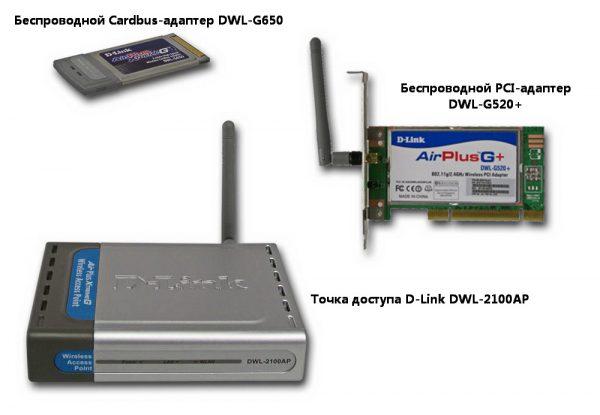 Беспроводное оборудование D-Link