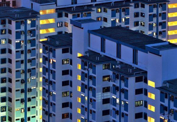 Многоэтажные дома