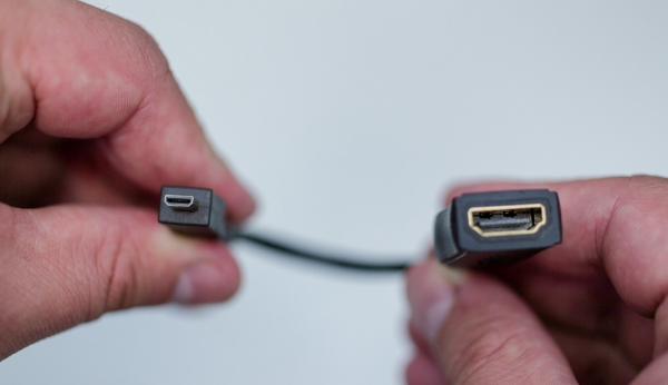Переходник с HDMI на microHDMI