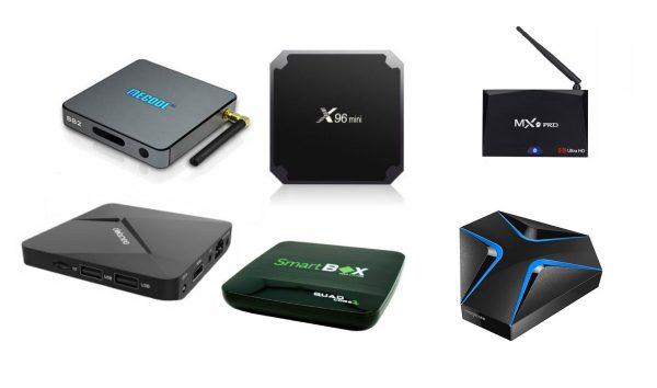 Приставки Смарт ТВ разных производителей