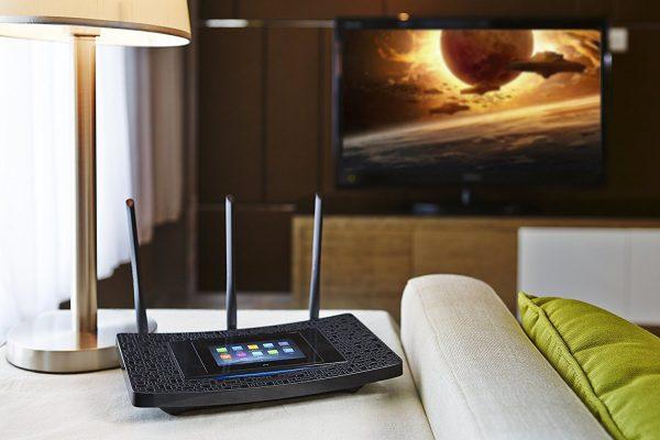 Роутер и телевизор