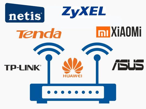 Изестные производители Wi-Fi-роутеров