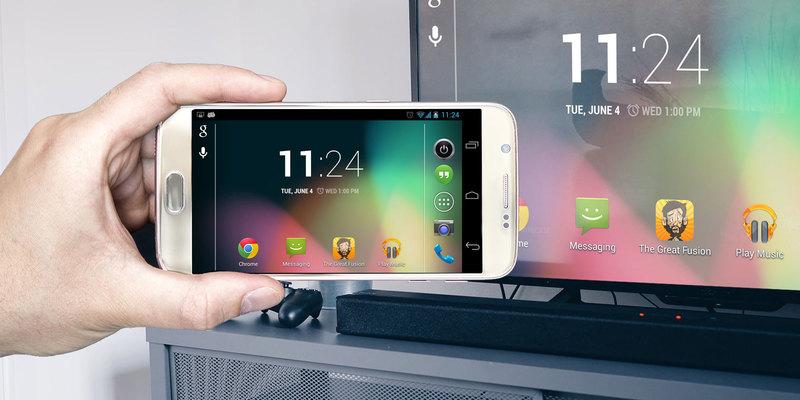 Как подключить любой телефон к телевизору «Самсунг»