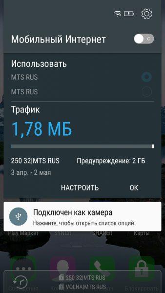 Активация интернета